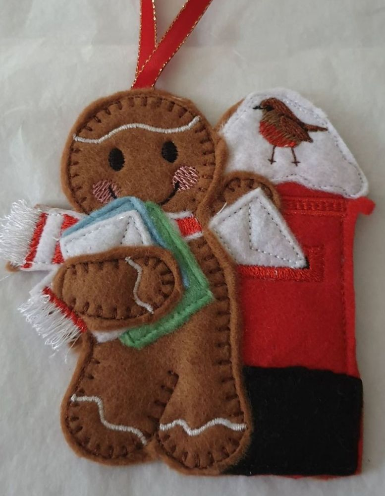 Christmas Post Gingerbread