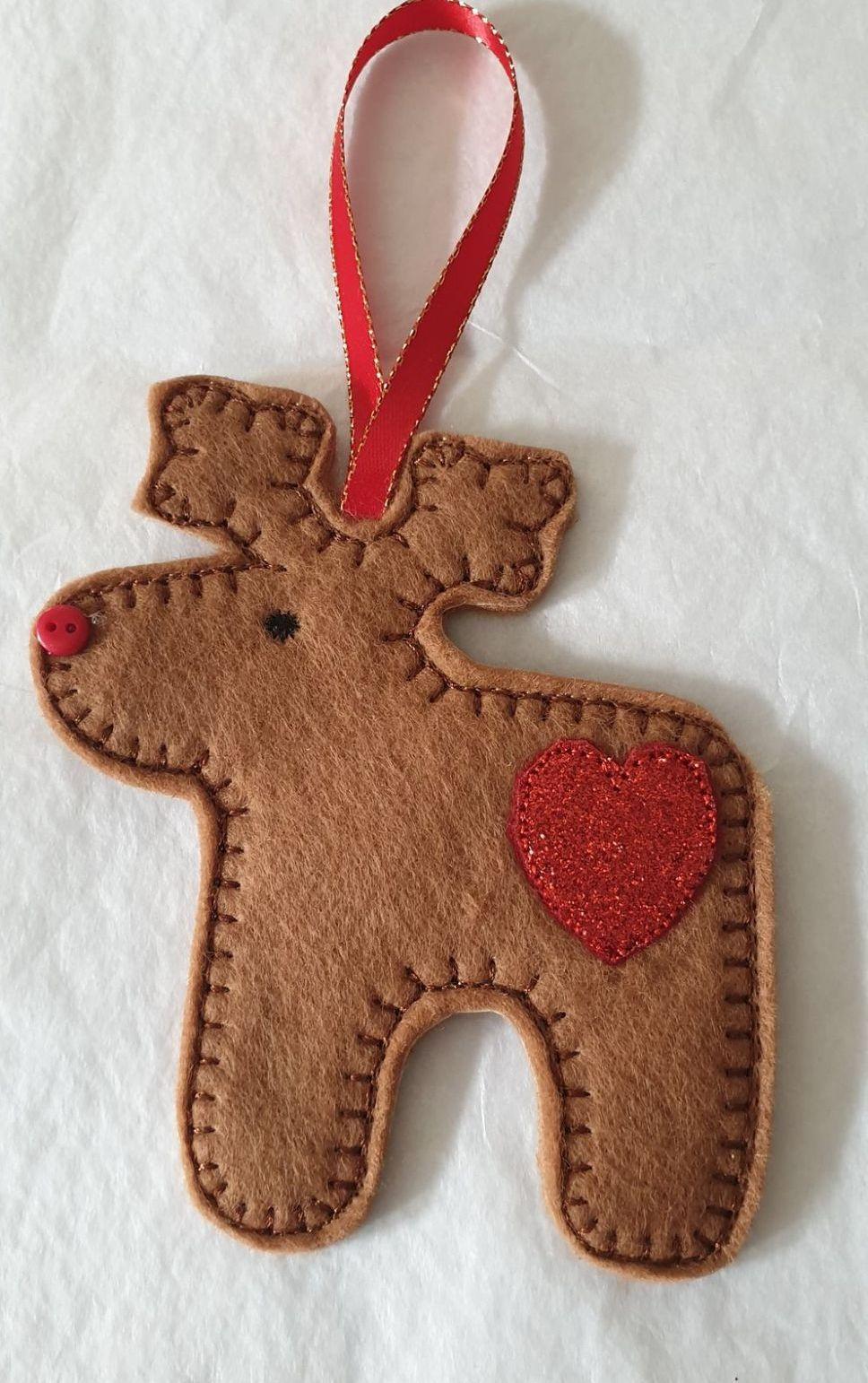 Christmas Reindeer Gingerbread