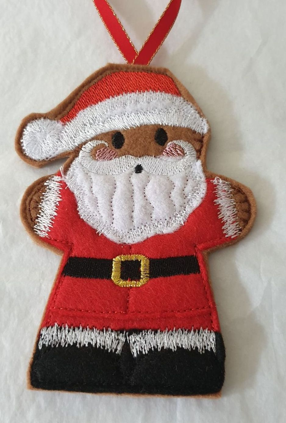 Christmas Santa Gingerbread