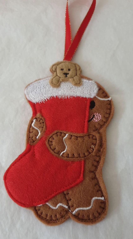 Christmas Stocking Gingerbread