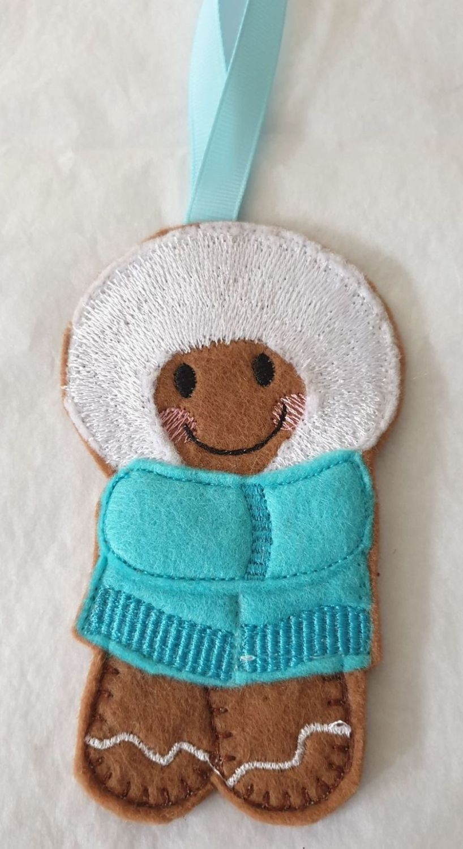 Winter Coat Gingerbread