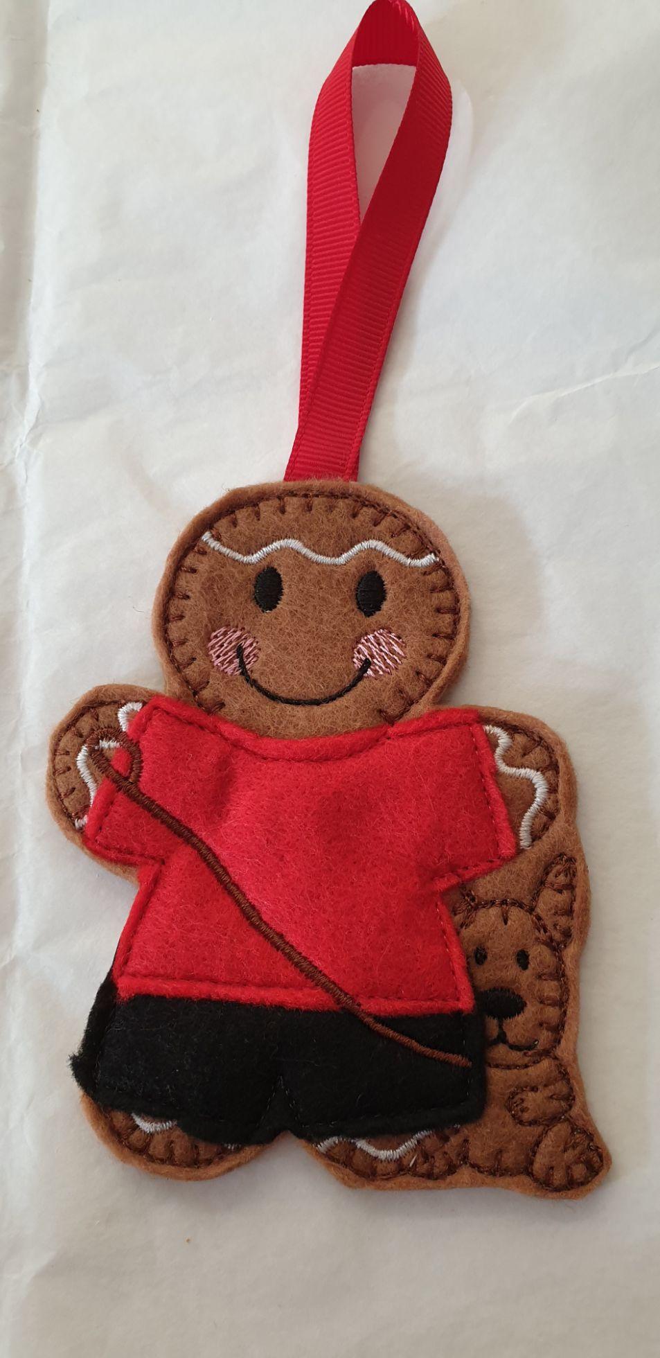 Dog Walker Gingerbread