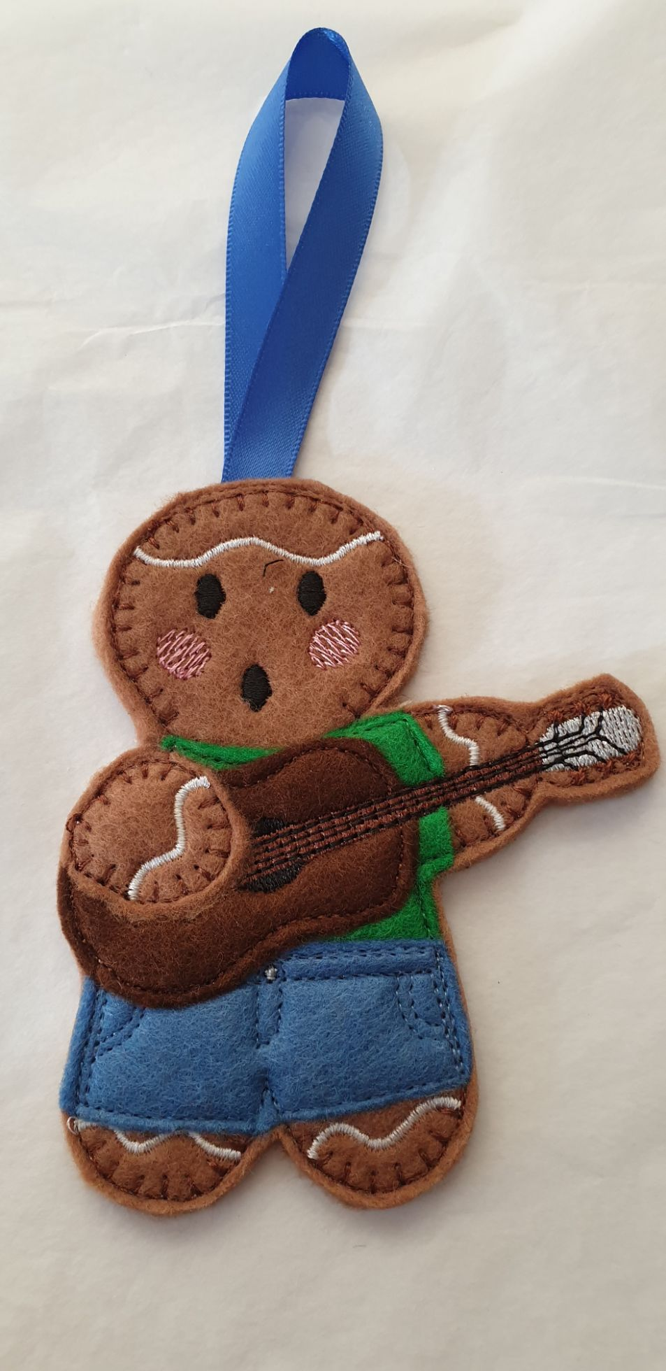 Guitarist Gingerbread