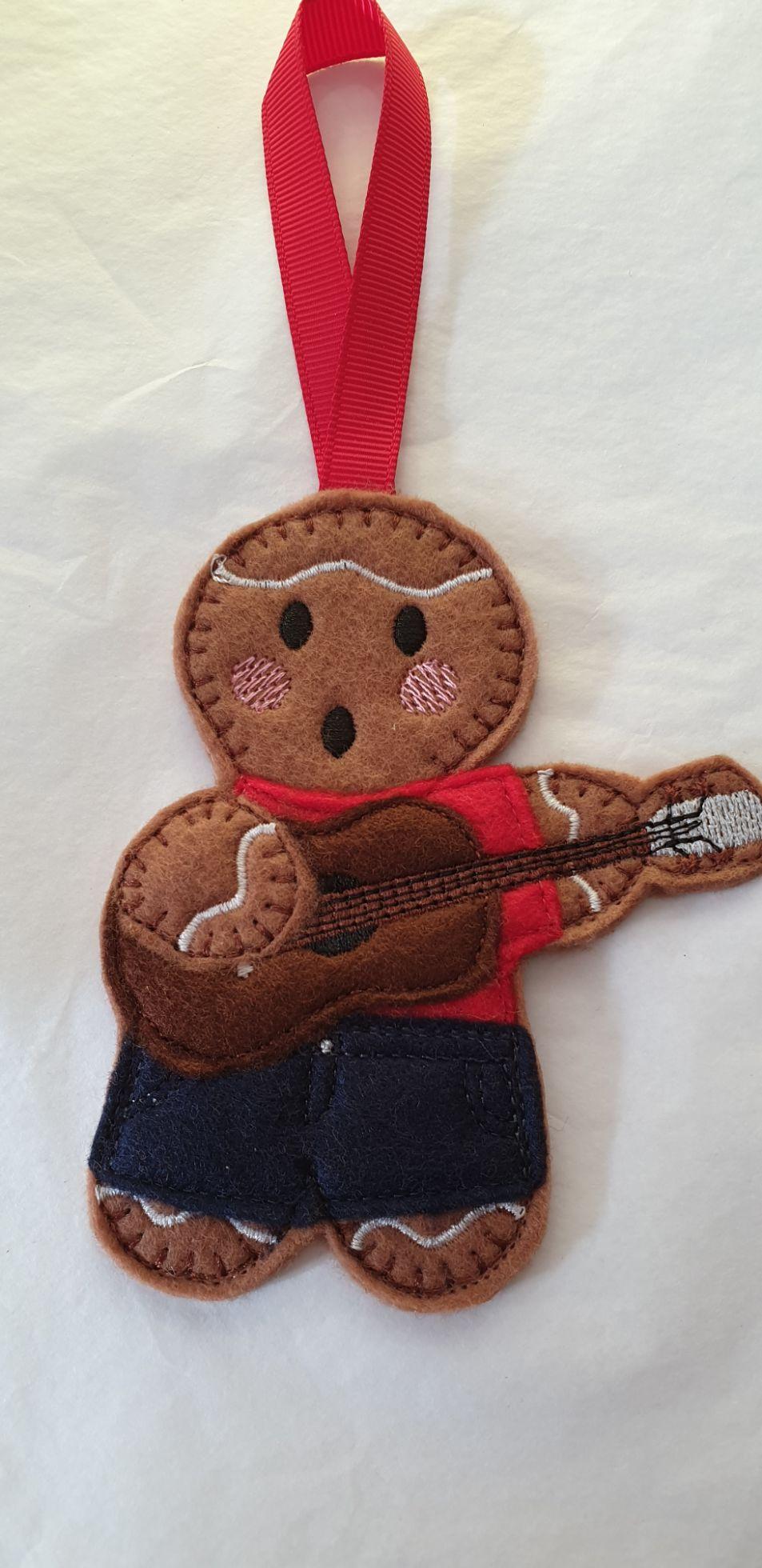 Ukulele Gingerbread