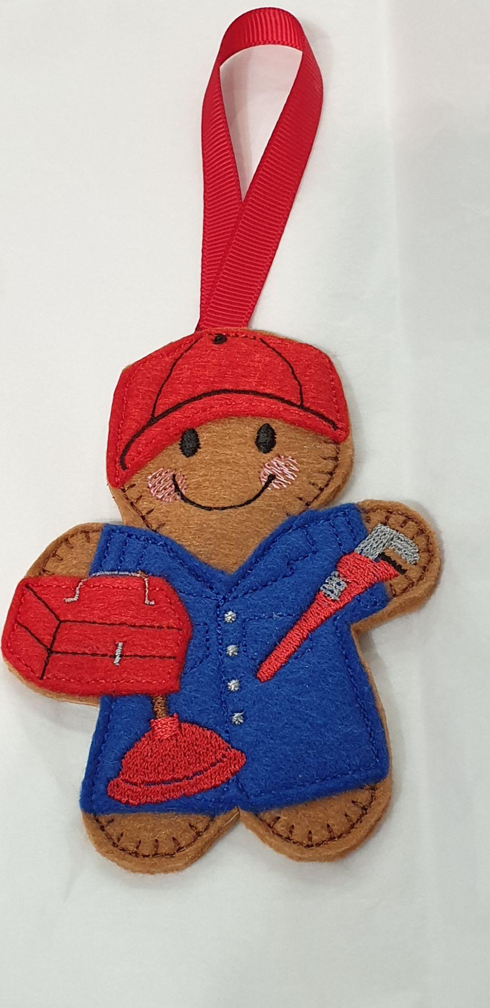 Plumber Gingerbread