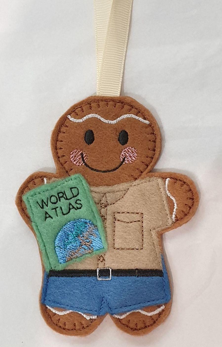 Accordion Gingerbread