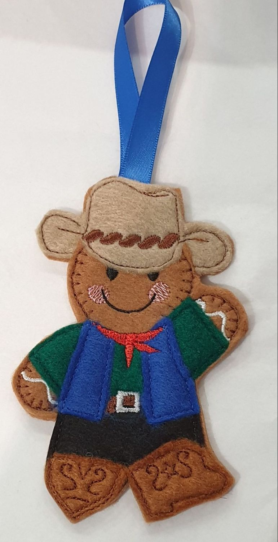 Cowboy Gingerbread