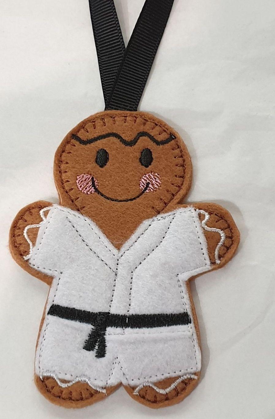 Karate Gingerbread