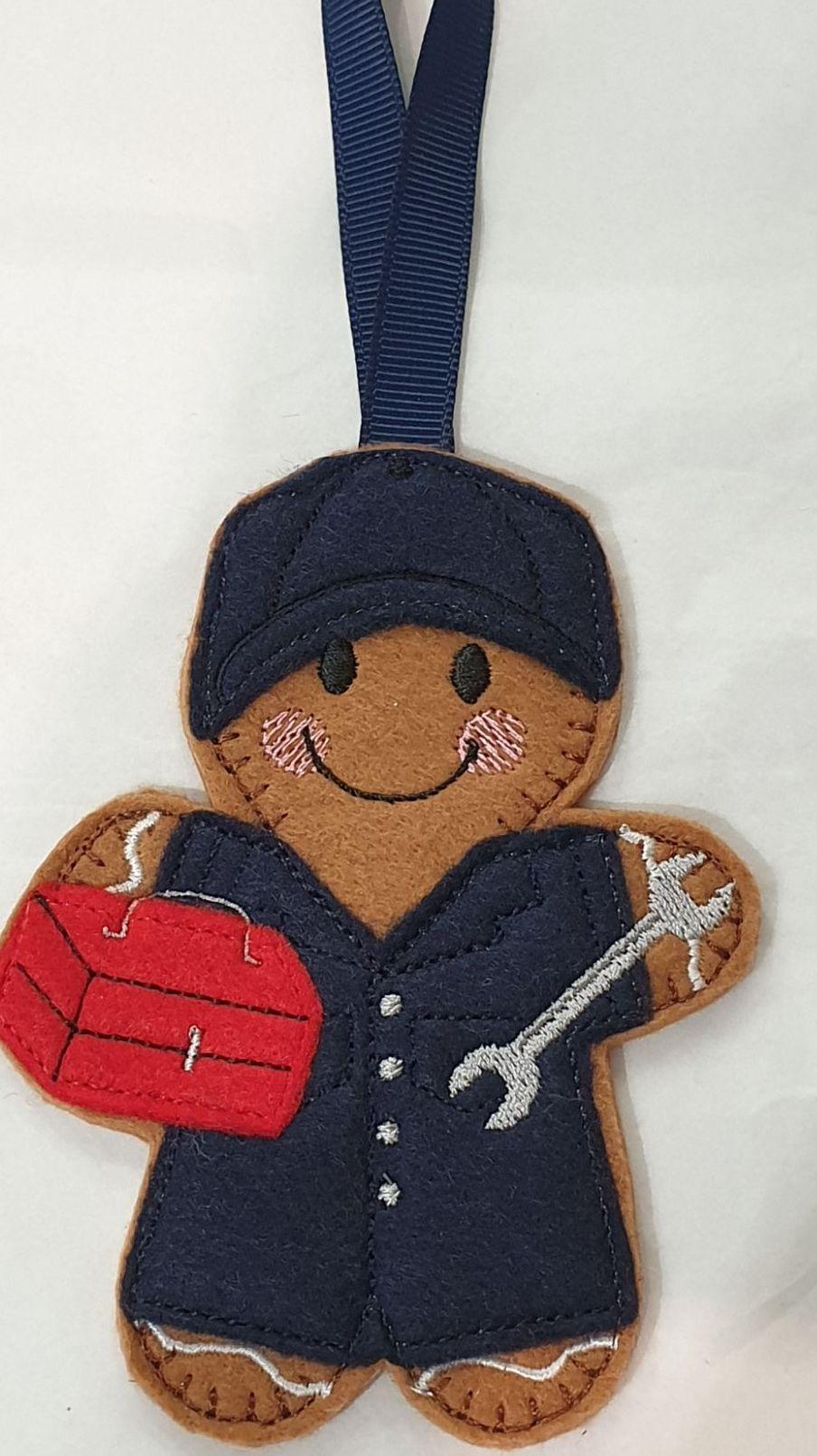 Mechanic  Gingerbread
