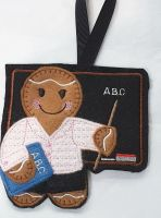 Teacher Blackboard Gingerbread