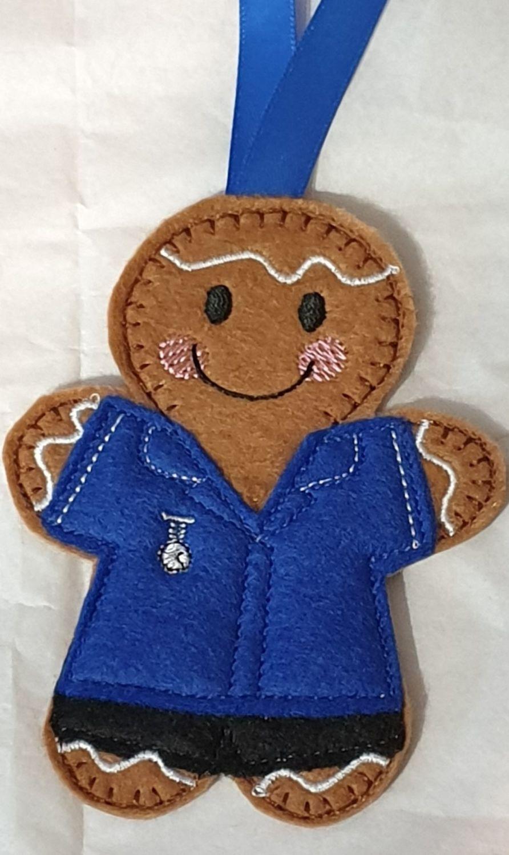 Nurse / Carer uniform Gingerbread