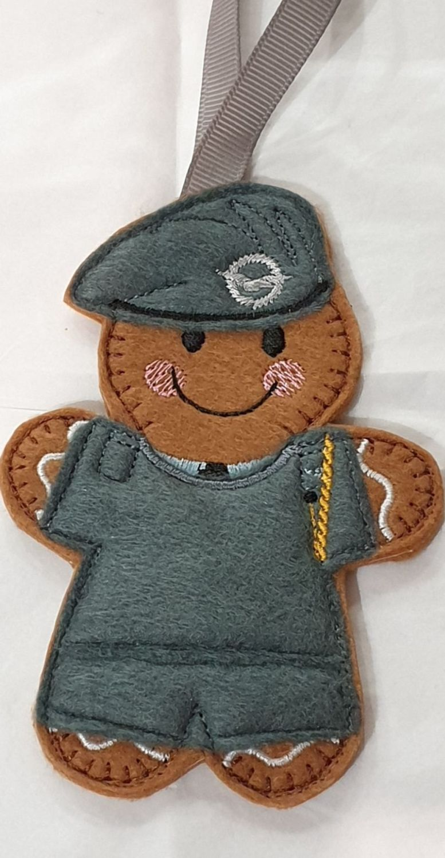 Air Cadet Gingerbread