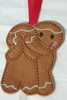 Guess who?  Couple Gingerbread