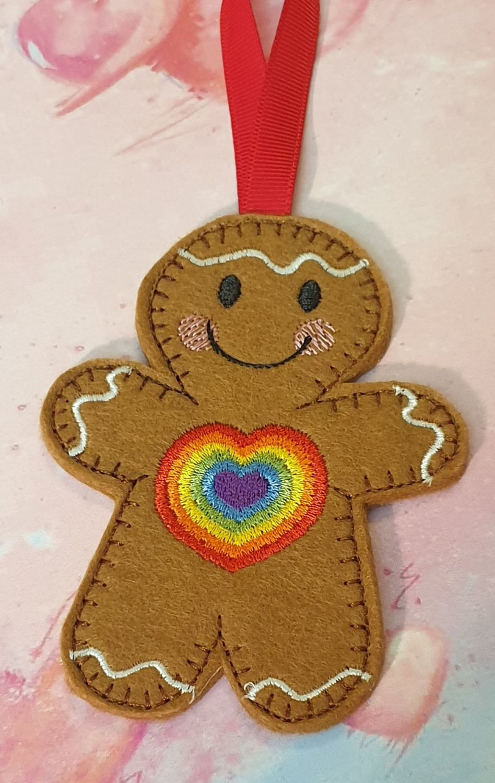 Rainbow Gingerbread