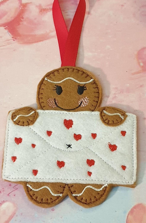 Love Letter  Gingerbread