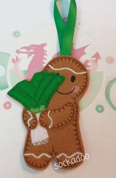 Welsh Leek Gingerbread