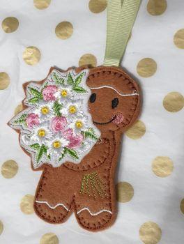 Flower Bouquet  Gingerbread