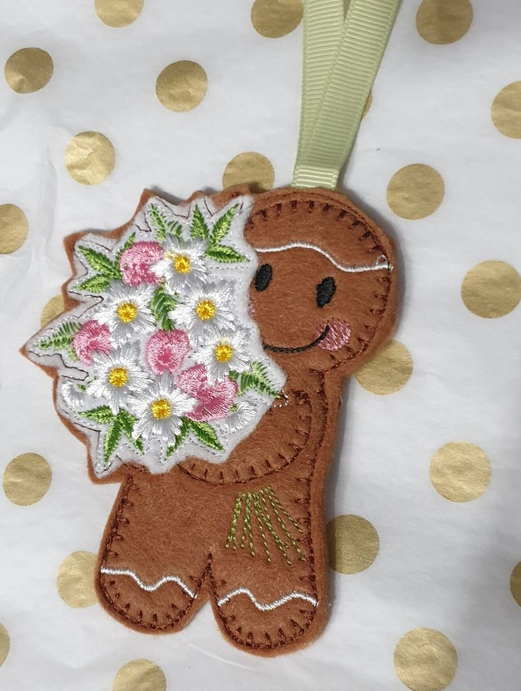 Flower Bouquet  Gingerbread