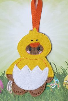 Dress up Chick Gingerbread Easter