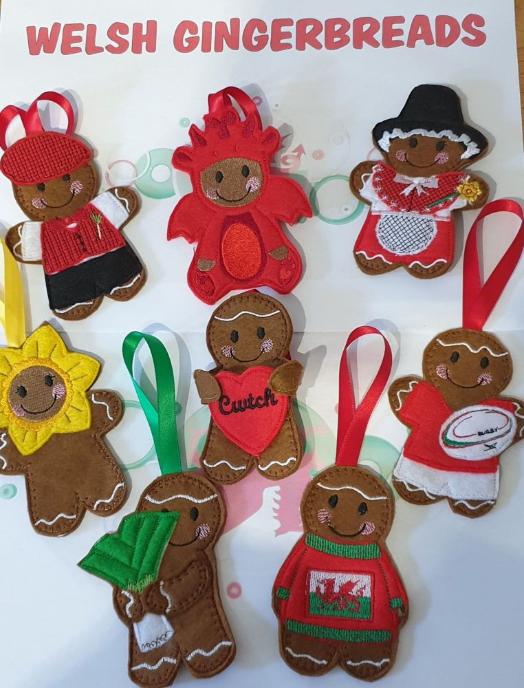 St. David's Day OFFER Welsh Gingerbreads