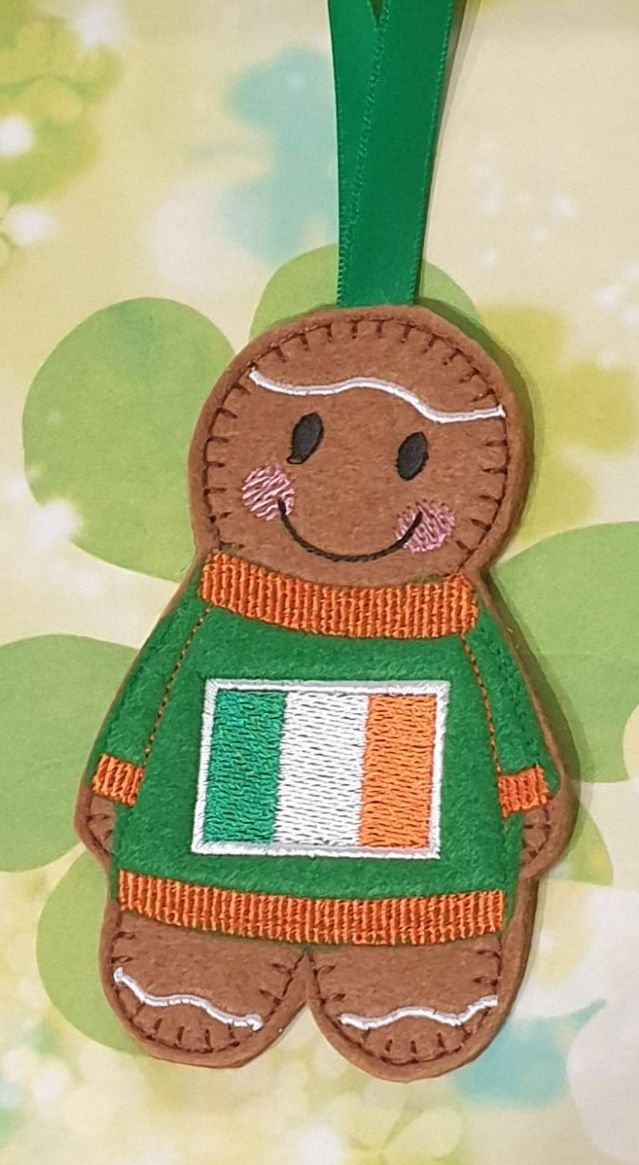 Irish Flag Jumper Gingerbread