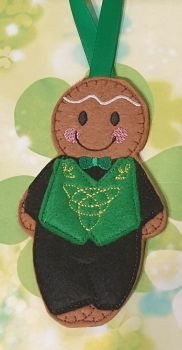 Irish Boy Dancer Gingerbread
