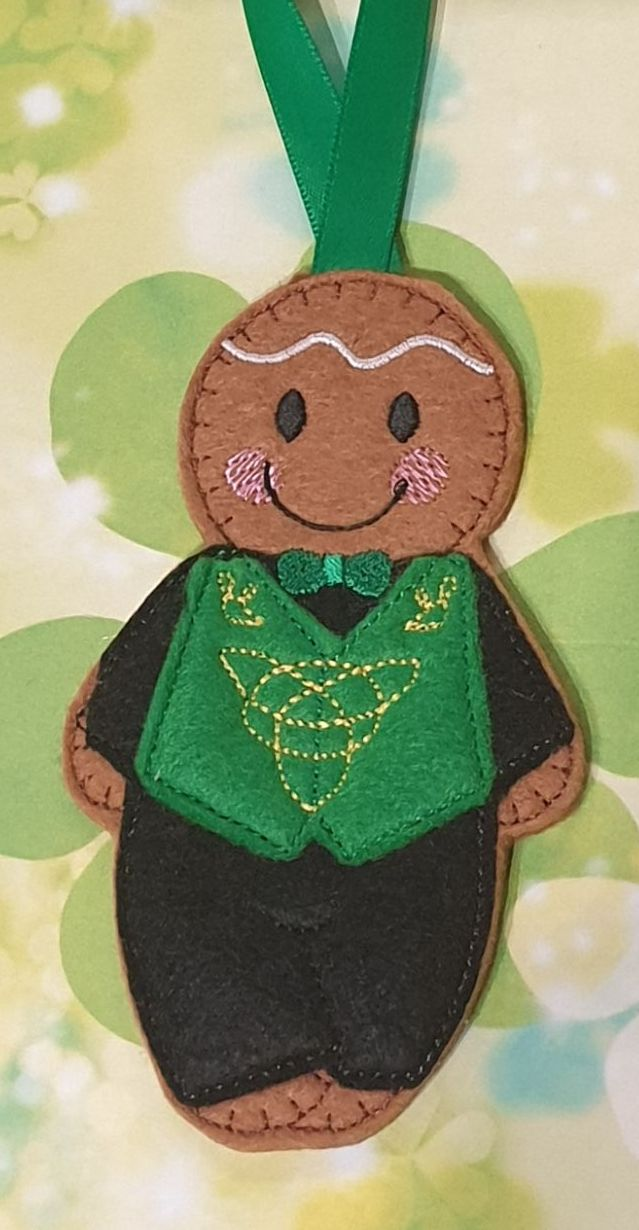 Irish Boy Dancer Gingerbread