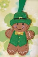 Leprechaun Gingerbread St Patrick's Day