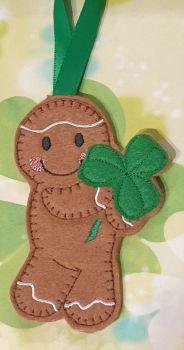 Shamrock Gingerbread St Patrick's Day