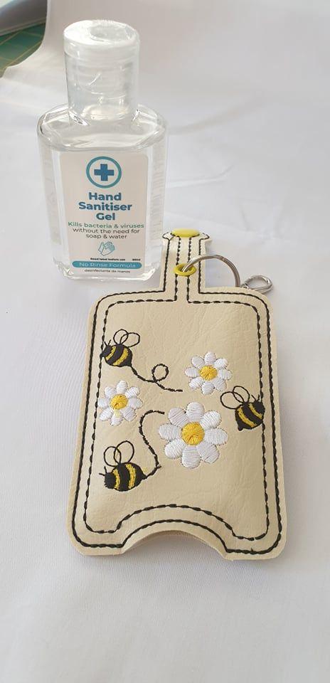 Hand Sanitiser Holder Bee Design