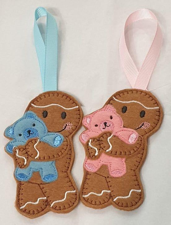 Bear Cuddles Gingerbread
