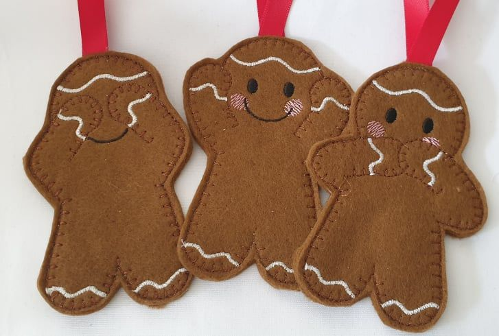 3 Wise Gingerbreads  Gingerbread