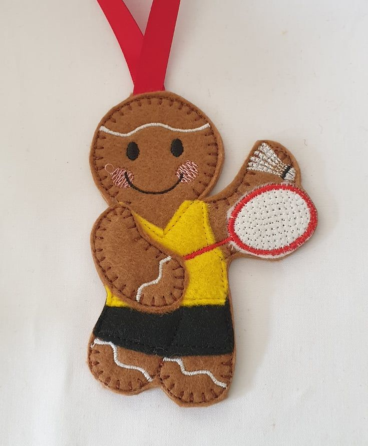 Badminton Gingerbread