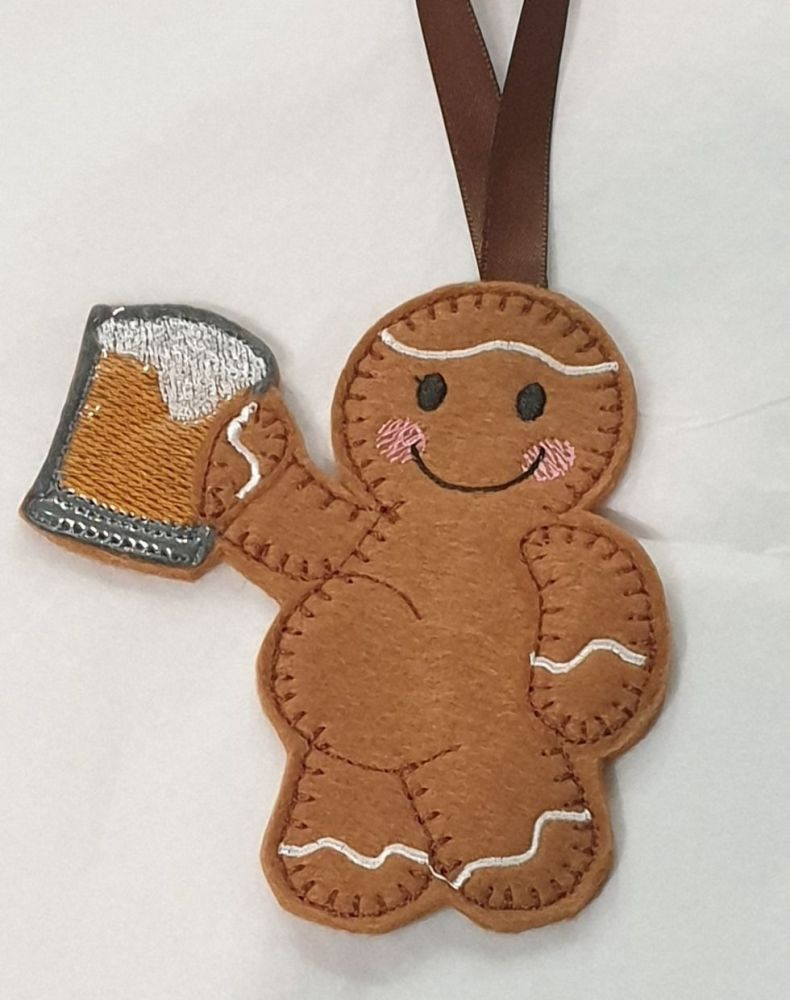 Beer Belly Drinking Gingerbread