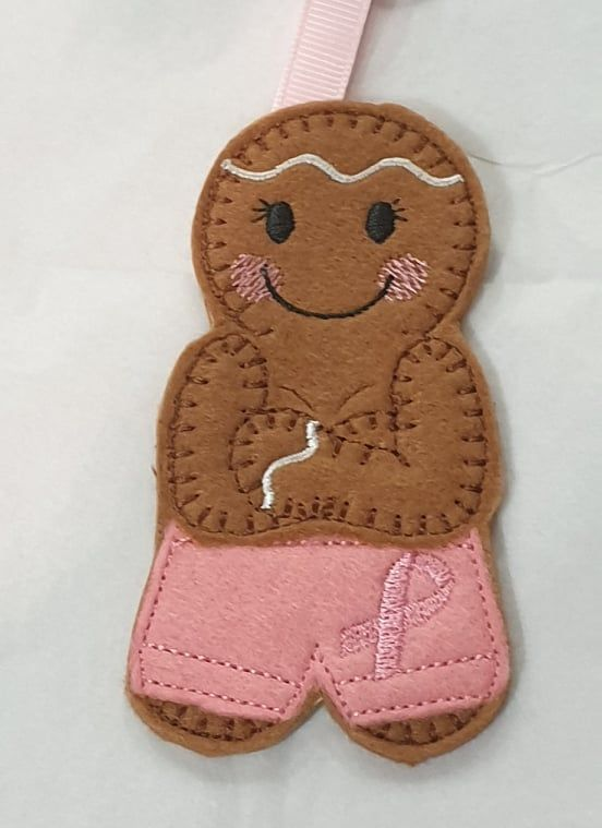 Breast Cancer Gingerbread