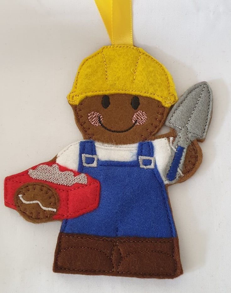 Bricklayer Gingerbread construction