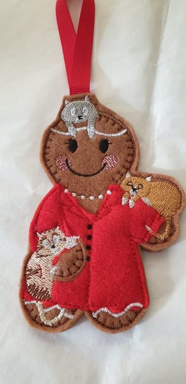 Cat Lady Gingerbread