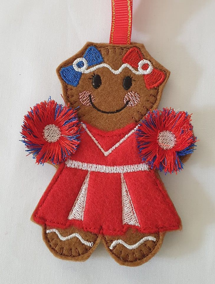 Cheerleader Gingerbread