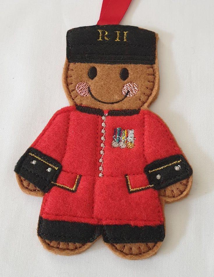 Chelsea Pensioner Gingerbread