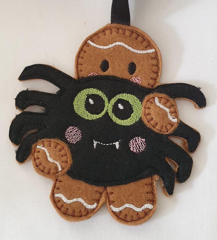 Halloween Spider Gingerbread
