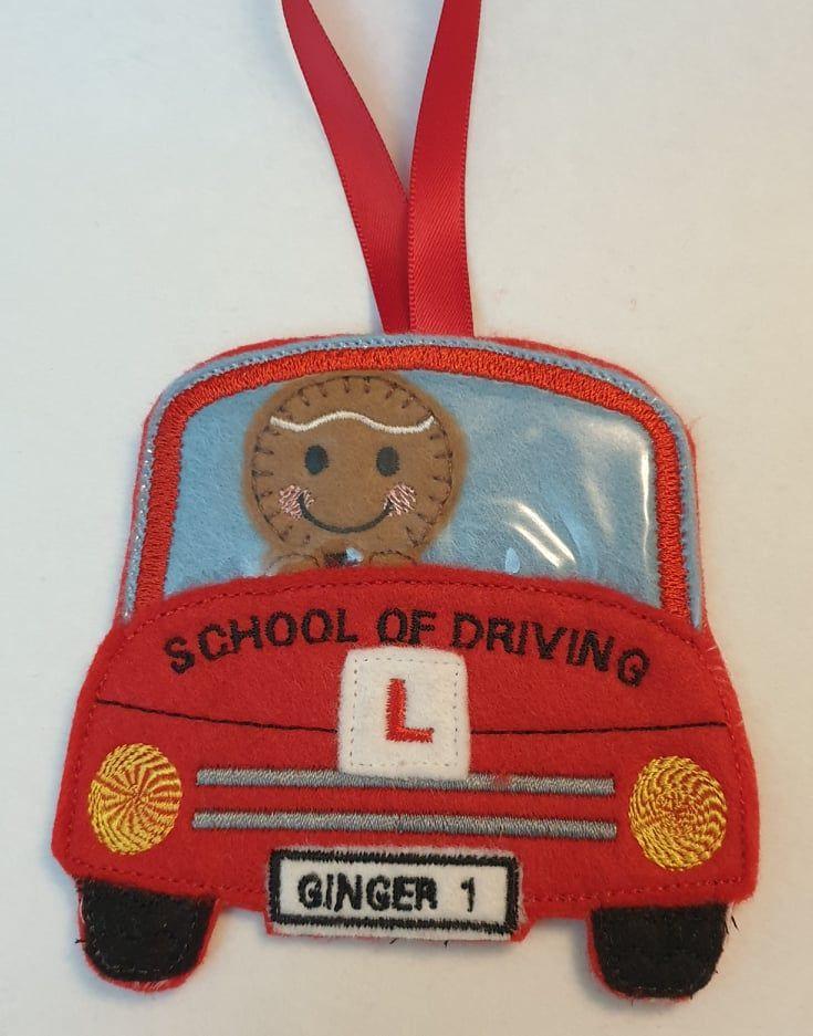 Learner Driver, School of motoring Gingerbread