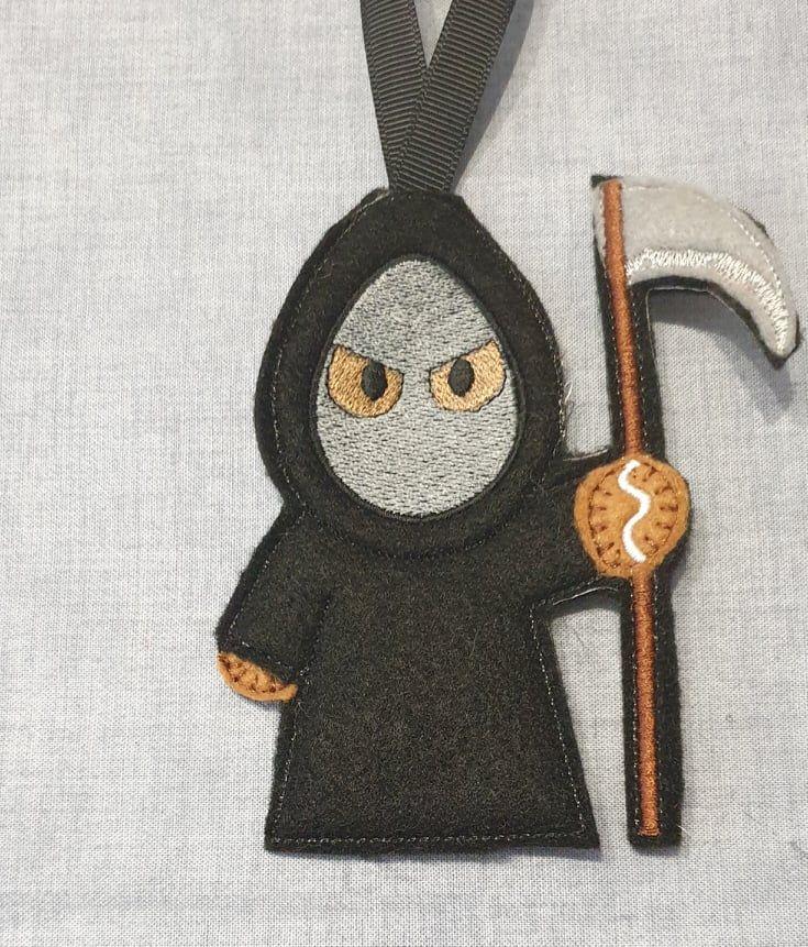 Grim Reaper Gingerbread Halloween