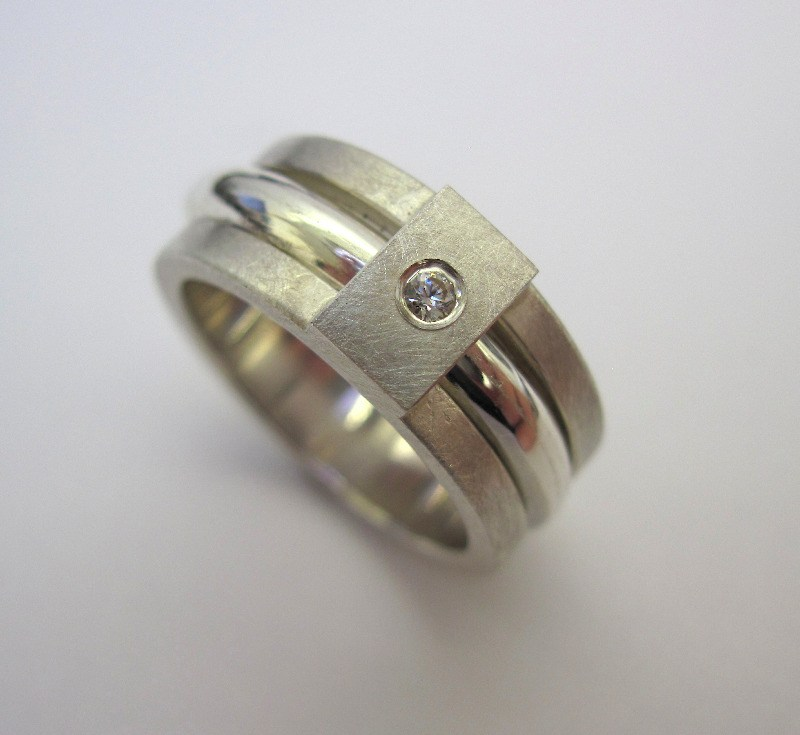 doctor ring silver