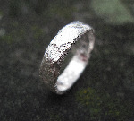 Slim Rocky Outcrop Ring