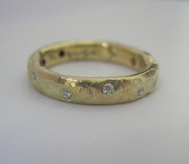 organic diamond band