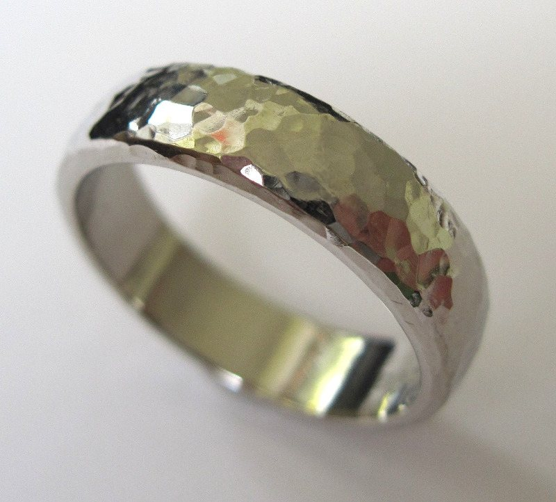 hammered wedding rings unusual wedding rings edinburgh mens rings