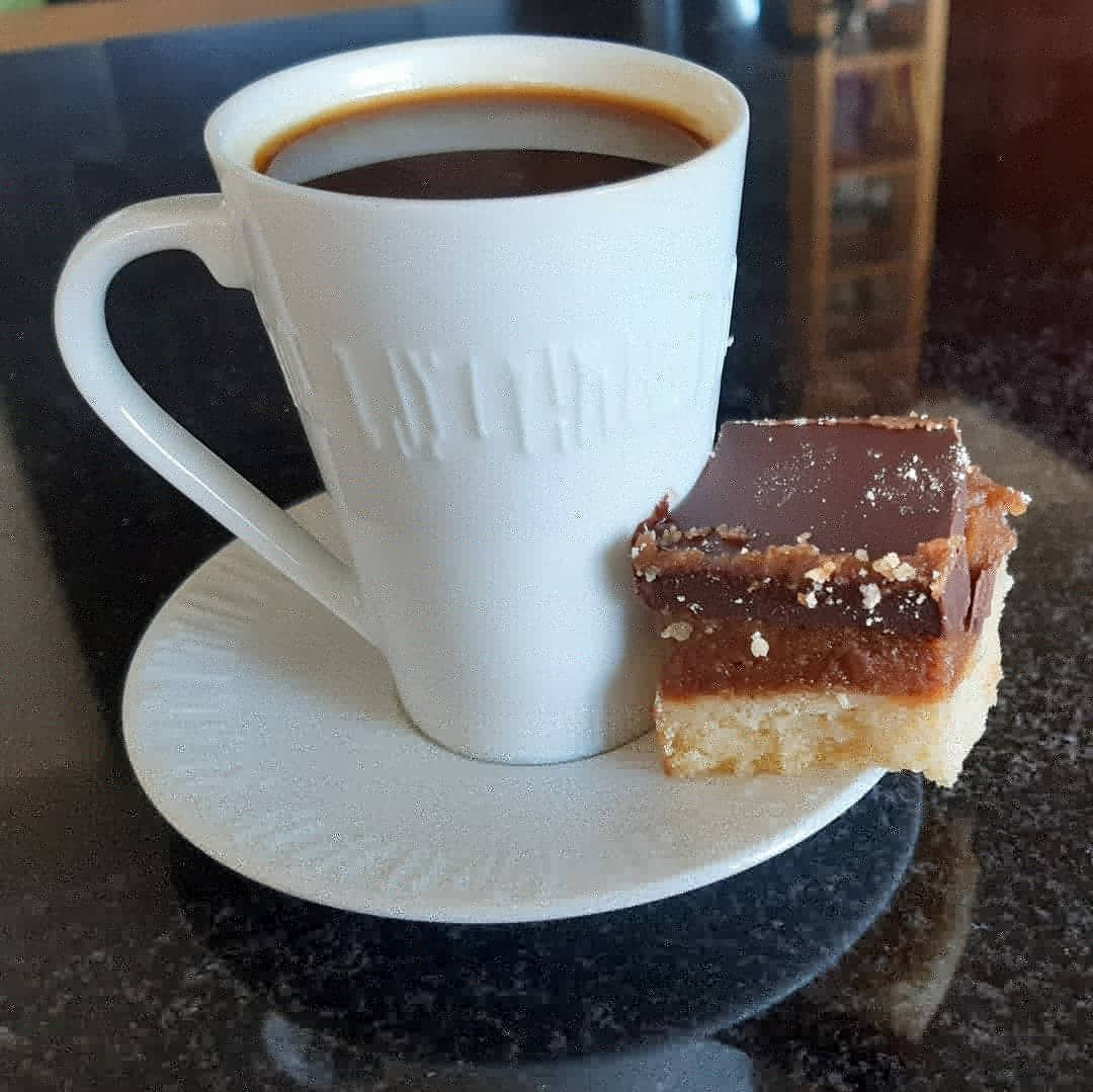 Espresso and cake