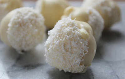 Coconut-Lime Truffles