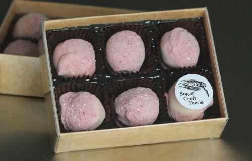 Raspberrycello Truffles