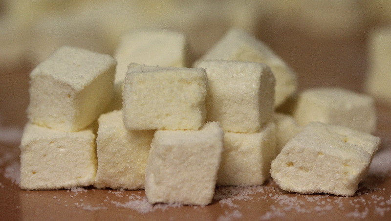 Sherbet-Lemon Marshmallows